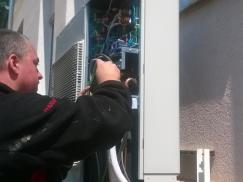 Servis klimatizační jednotky