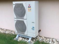 Montáž tepelného čerpadla MITSUBISHI ZUBADAN 12 kW