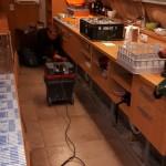 Zámecký klub Hranice - čištění vzduchotechniky